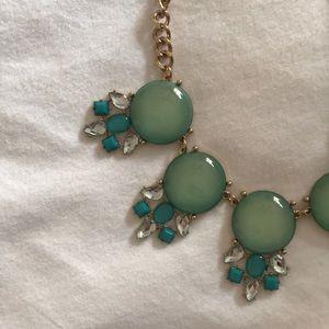 Francesca's Collections Jewelry - NWOT Francescas Blue Statement Necklace